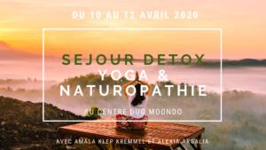 Séjour detox, yoga et naturopathie